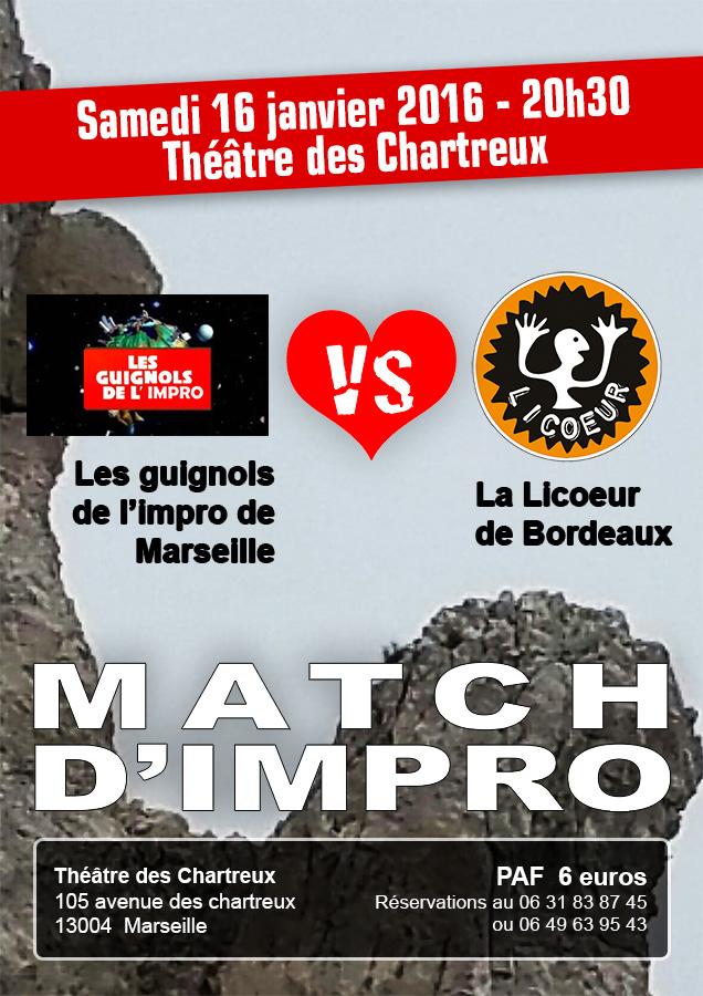 Le match Guignols-Licoeur du 16 janvier 2016
